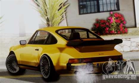 Porche 911 Turbo 1982 для GTA San Andreas вид слева