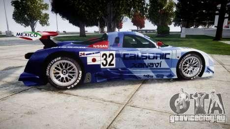 Nissan R390 GT1 1998 для GTA 4 вид слева