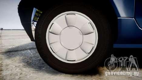 Renault Twingo I для GTA 4 вид сзади