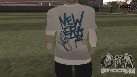 Tracer Skin New Era для GTA San Andreas третий скриншот