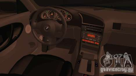BMW M3 E36 Cabrio 34 DAT 29 для GTA San Andreas вид сзади слева