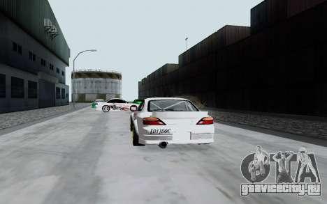 Nissan Silvia S15 VCDT для GTA San Andreas вид справа