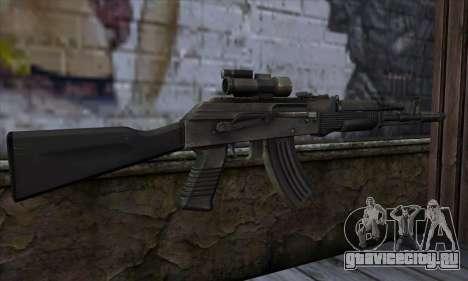 AK-103 Ravaged для GTA San Andreas второй скриншот