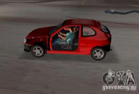 Daewoo Lanos Sport 2001 г. США для GTA Vice City двигатель