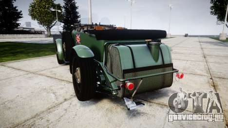 Bentley Blower 4.5 Litre Supercharged [low] для GTA 4 вид сзади слева