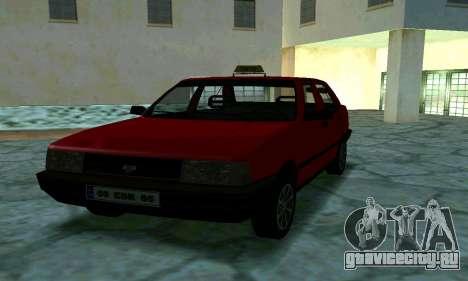 Tofas Sahin Taxi для GTA San Andreas вид сбоку