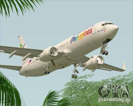 Boeing 737-800 South East Asian Airlines (SEAIR) для GTA San Andreas двигатель