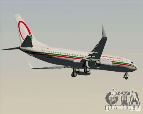 Boeing 737-8B6 Royal Air Maroc (RAM) для GTA San Andreas