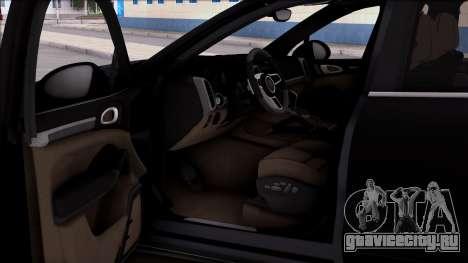 Porsche Cayenne Hybrid 2015 для GTA San Andreas вид справа