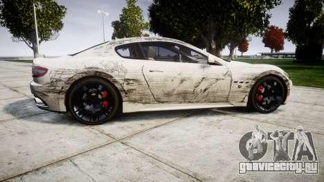 Maserati GranTurismo S 2010 PJ 4 для GTA 4 вид слева