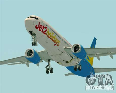 Boeing 737-800 Jet2Holidays для GTA San Andreas двигатель