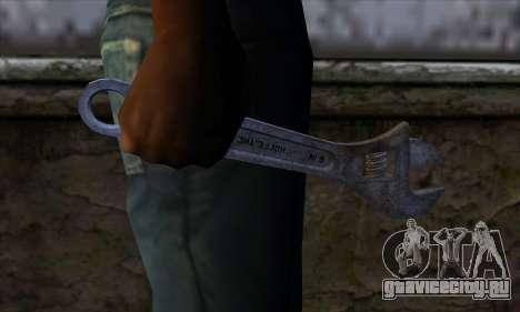 Гаечный ключ для GTA San Andreas третий скриншот
