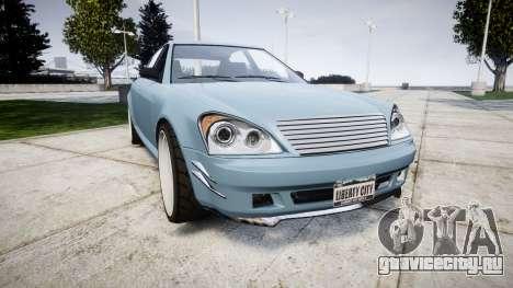 Benefactor Schafter Gen. 1 Grey Series для GTA 4