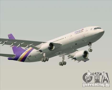 Airbus A300-600 Thai Airways International для GTA San Andreas вид снизу