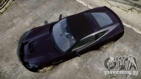 Chevrolet Corvette C7 Stingray 2014 v2.0 TireYA2 для GTA 4 вид справа