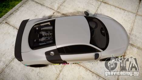 Audi R8 LMX 2015 [EPM] Sticker Bomb для GTA 4 вид справа