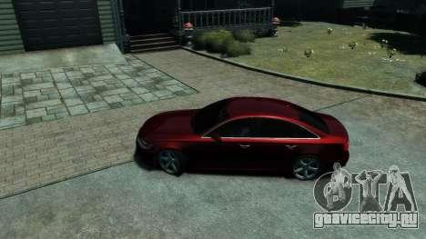 Audi A6 2012 для GTA 4 вид изнутри