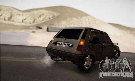 Renault 5 для GTA San Andreas вид справа