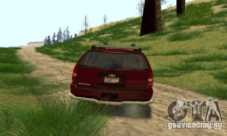 Chevrolet Tahoe Final для GTA San Andreas вид сзади слева