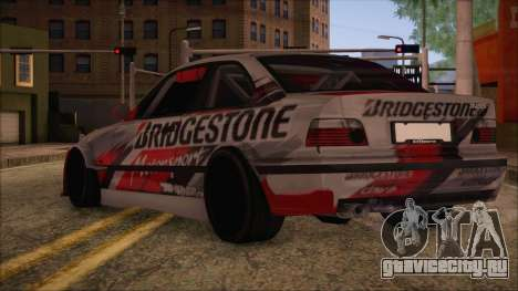BMW E36 Coupe Bridgestone для GTA San Andreas вид слева