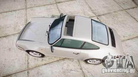 Porsche 911 (964) Coupe для GTA 4 вид справа