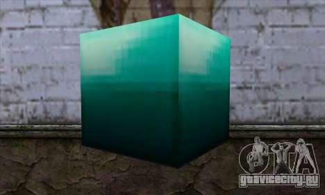 Блок (Minecraft) v10 для GTA San Andreas второй скриншот