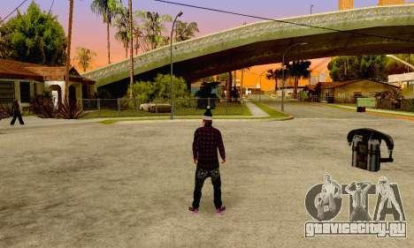 The Ballas Gang Skin Pack для GTA San Andreas четвёртый скриншот