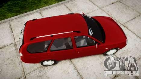 ВАЗ-2171 LADA Priora rims1 для GTA 4 вид справа