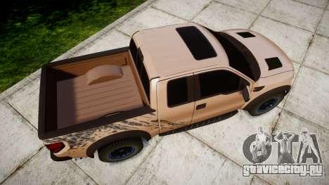 Ford F-150 Raptor для GTA 4 вид справа