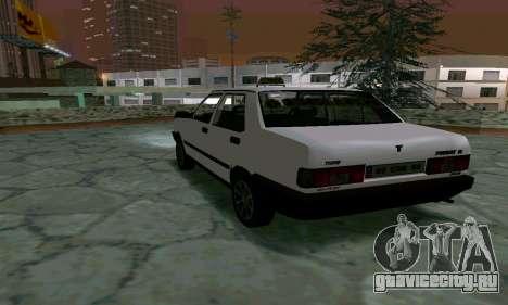 Tofas Sahin Taxi для GTA San Andreas вид справа