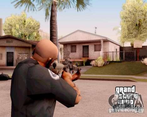 M4A1 BF4 для GTA San Andreas второй скриншот