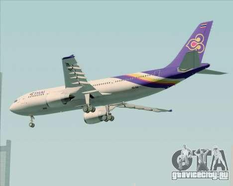 Airbus A300-600 Thai Airways International для GTA San Andreas вид справа
