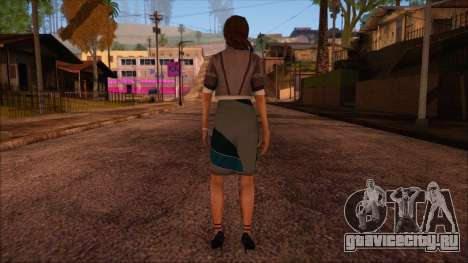 Modern Woman Skin 4 v2 для GTA San Andreas второй скриншот