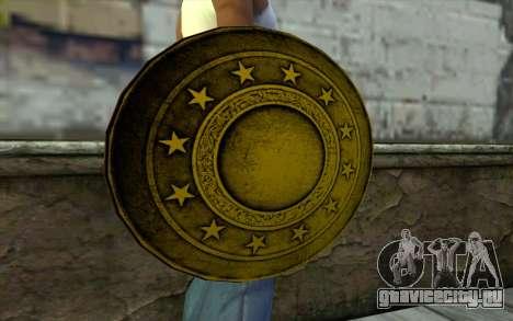 Old Gold Shield для GTA San Andreas третий скриншот