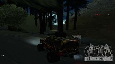 Трасса Offroad v1.1 by Rappar313 для GTA San Andreas