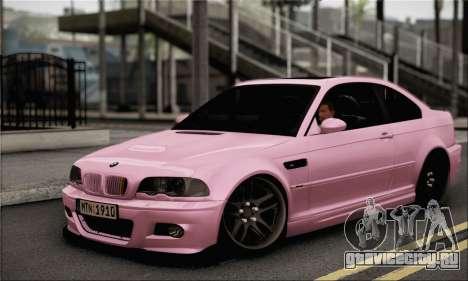BMW M3 E46 StanceWork для GTA San Andreas