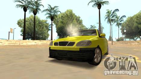 Daewoo Lanos Sport 2001 г. США для GTA San Andreas