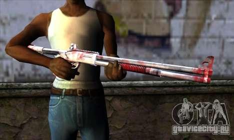 Chromegun Bloody для GTA San Andreas третий скриншот