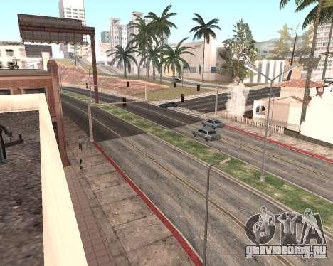 Текстуры Los Santos из GTA 5 для GTA San Andreas одинадцатый скриншот