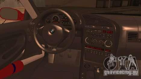 BMW E36 Coupe Bridgestone для GTA San Andreas вид сзади слева