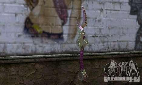 Клинок (World Of Warcraft) для GTA San Andreas второй скриншот
