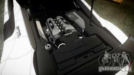 Audi R8 LMX 2015 [EPM] Sticker Bomb для GTA 4 вид сбоку