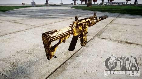 Автомат P416 silencer PJ4 для GTA 4 второй скриншот