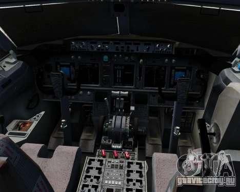Boeing 737-800 Jet2Holidays для GTA San Andreas салон