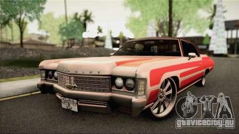 Chevrolet Impala Lowrider для GTA San Andreas