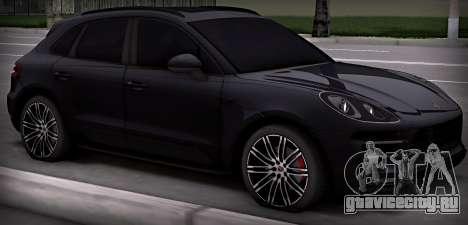 Porsche Macan Turbo для GTA San Andreas