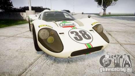Ford GT40 Mark IV 1967 PJ Oilzanol 38 для GTA 4