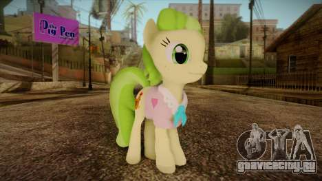 Peachbottom from My Little Pony для GTA San Andreas