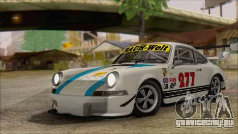 Porsche 911 Carrera 1973 Tunable KIT C для GTA San Andreas вид изнутри