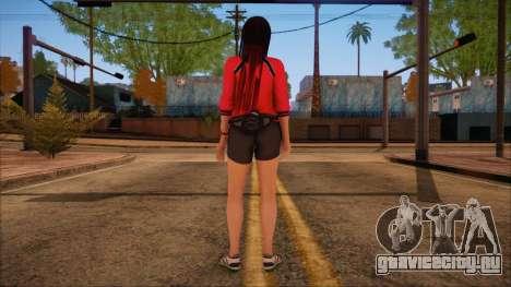 Modern Woman Skin 14 для GTA San Andreas второй скриншот